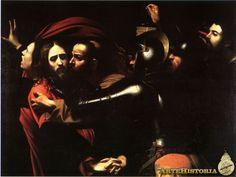 Michelangelo Merisi da Caravaggio, El prendimiento de Cristo, 1602. Galería Nacional de Irlanda, Dublín.