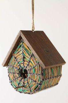 funky birdhouse