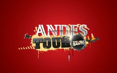 Andes Tour Poster | Tour/TvShow of Karamelo Santo through Europe, sponsored by Andes Beer. | Designer: Andres Celesia | Image 1 of 2