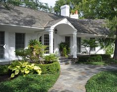 Traditional Exterior Photos Brick Ranch Design, Pictures, Remodel, Decor  And Ideas   Page 2