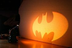 FUCK. YES. I NEED TO MAKE THIS RIGHT NOW: DIY Batman Signal Spotlight using Arduino