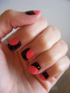 a bunch of different nail polish ideas!