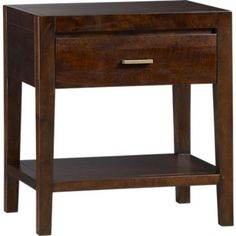Crate & Barrel Look-Alikes: Save 270.00 @ World Market vs Crate and Barrel Dawson Nightstand
