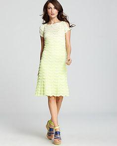 Nanette Lepore has the sweetest lace dresses of the season