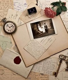 DIY Vintage Wedding Invitations - Lots of places sell vintage wedding invitations, but they either look too commercial or they cost too much. Instead, you can make your own vintage wedding invitations, either by downloading printable cards, using pre-existing monograms or images, or by starting from scratch and using your...