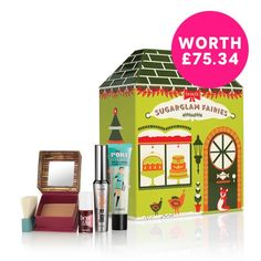 Benefit Cosmetics sugarglam fairies value set - A Macy's Exclusive - Gifts & Value Sets - Beauty - Macy's Benefit Cosmetics, Christmas Gift Sets, Christmas Fairy, Sephora, Value Set, Make Up Storage, Storage Ideas, Holiday 2014, Christmas 2014