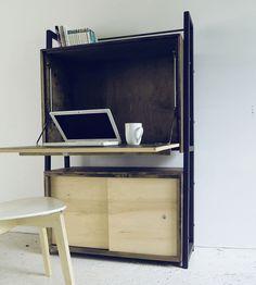 Modern Secretary Desk Reclaimed Wood Secretary Desk | Home Furniture | Modern Arks
