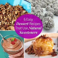 Natural Sweeteners + Baked Apples Recipe — Dishmaps