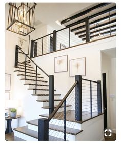33 Ultimate Farmhouse Staircase Decor Ideas And Design Stair Railing Ideas Decor design FARMHOUSE ideas Staircase Ultimate Joanna Gaines Design, Farmhouse Stairs, Farmhouse Ideas, Farmhouse Floor Plans, Farmhouse Homes, Farmhouse Chic, Country Farmhouse, Country Living, Sweet Home