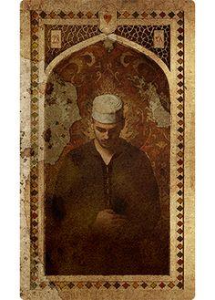 OLD ARABIAN LENORMAND - Gentleman