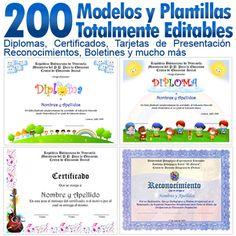 Plantillas De Diplomas Para Parvularia Y Kindergarten Gratis Pictures