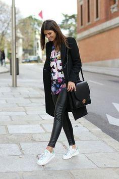 Stylish Ways to Wear Your Adidas Stan Smith Sneakers