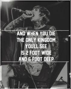 Bring Me The Horizon Song Quotes | via nicole lawler