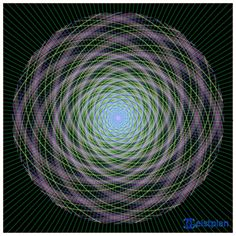 "Mandala ""Fibonacci-Tunnel"""