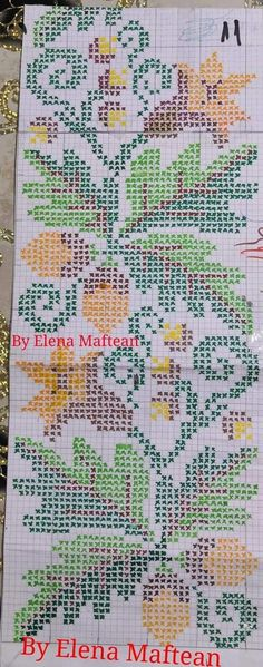 Cross Stitching, Cross Stitch Embroidery, Cross Stitch Patterns, Diy And Crafts, Floral, Handmade, Red Blouses, Kitchen, Drawings