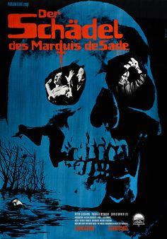 Filmplakat Der Schädel des Marquis de Sade, Originaltitel The Skull, EN 1965