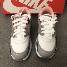 Air Max 90, Nike Air Max, Pink Nikes, Adidas Sneakers, Shoes, Fashion, Moda, Shoe, Shoes Outlet