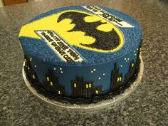 Batman Cake Inspiration