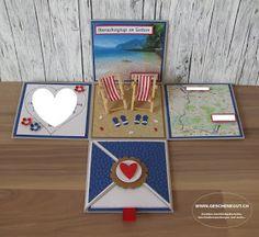 Gardasee Geschenkbox Überraschungsbox Explosionsbox Reisegutschein Ferien Geburtstagsgeschenk