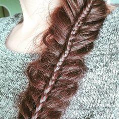 Fryzura na dzis- podwójny kłos #365daysofbraids #day5 #braidchallenge #braidideas #double #fishtail #braid #kłos #warkocz #fryzura #wyzwanie #włosy #hairstylist #hairblog #hairoftheday #instabraids #warkocze