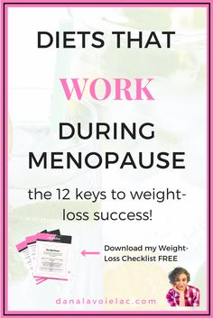 Let's look at what it takes to create diets that work during menopause by working with your brain chemistry and hormones - NOT willpower and calories. Post Menopause, Menopause Diet, Menopause Symptoms, Menopause Supplements, Losing Weight Tips, Easy Weight Loss, Lose Weight, Weight Gain Workout, Diets That Work