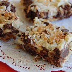 "Amazing Gluten-Free Layer Bars | ""Everyone loves these, not just those on a gluten-free diet."" —Christmas"