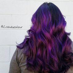 "262 Likes, 10 Comments - N. DARTMOUTH, MA HAIRCOLORIST (Lisa De Mond) on Instagram: ""Dark orchid 💜🔮 #lisadoeshair #pravana #theresonlyone #behindthechair #btconeshot_color16"""