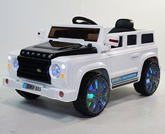 Kids police car range rover style 4x4 12v electric battery for Rollplay kids ride on 6v mercedes benz gl450 suv white