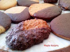 ΜΠΙΣΚΟΤΑ ΑΓΑΥΗΣ Biscuit Cookies, Healthy Cookies, Raw Vegan, Biscotti, Sugar Free, Recipies, Muffin, Chocolate, Eat