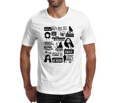 Koszulka z nadrukiem Hobbit 08 Toxic Shirts - Warszaa