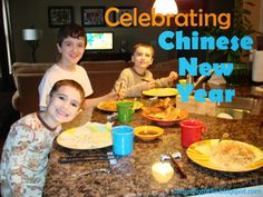 Learning Table: Chinese New Year {Kids in the Kitchen}--easy homemade pot stickers and ideas for Chinese New Year's activities.