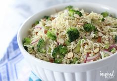 Serve up a delicious and unique summer pasta salad with this Ramen Noodle Salad. It's easy to make, inexpensive, and really delicious.