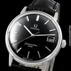 1969 Omega Seamaster 600 Vintage Mens Handwound Watch - Stainless Steel