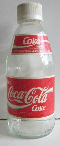 Coca Cola Bottle Language Bottle UK England 250ml Mini Bottle Paper Label Empty   eBay