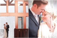 Winter Wedding; Minnewaska Lodge, Gardiner, NY