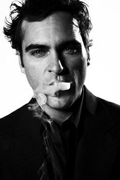 Male studio portraits Joaquin Phoenix by Michael Muller