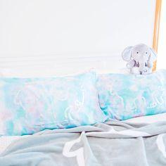 Watercolor Pillow Case Set