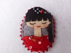 My brooches....