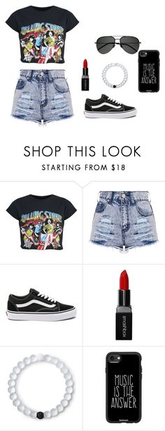"""""""Untitled #58"""" by britney-pitts ❤ liked on Polyvore featuring Vans, Smashbox, Lokai, Casetify and Yves Saint Laurent"""