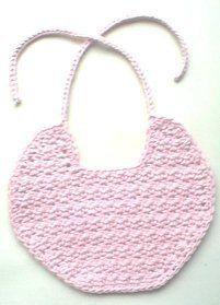 Unique crochet baby bib patterns please the most particular basic bib free crochet pattern dt1010fo