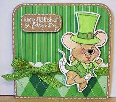 I Believe in Leprechauns Stamp Set