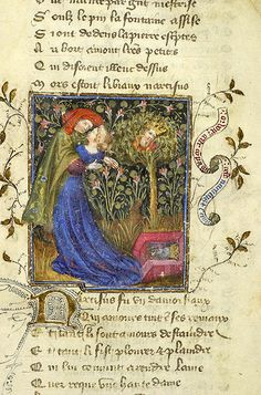 Roman de la Rose, MS M.245 fol. 11r - Images from Medieval and Renaissance Manuscripts - The Morgan Library & Museum