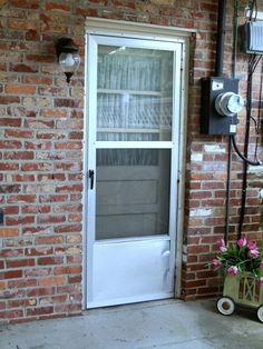 Hate That Tired Old Metal Screen Door Or Storm Door Paint