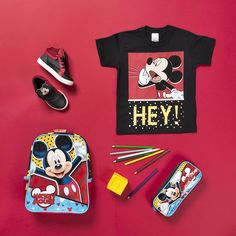 Fashion Still Kids for Tricae - Red (Janeiro/2017) - Flat lay