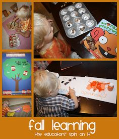 Activities for Fall Learning and Crafts at The Educators' Spin On It
