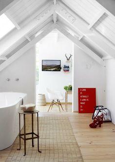 Salle de bain sous les combes.