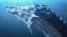 ArtStation - Water Dragon, Jia Hao