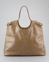 Yves Saint Laurent. Belle du Jour Patent Leather Tote