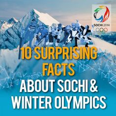Russian Winter Olympics in Sochi 2014: 10 Amazing Facts About The Most Expensive Games Ever | Finances Online™