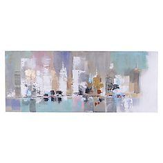 Oleo cities patinas 60 x 150 cm